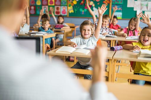En clase