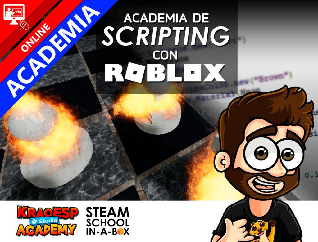 Academia KRAO de Scripting con Roblox