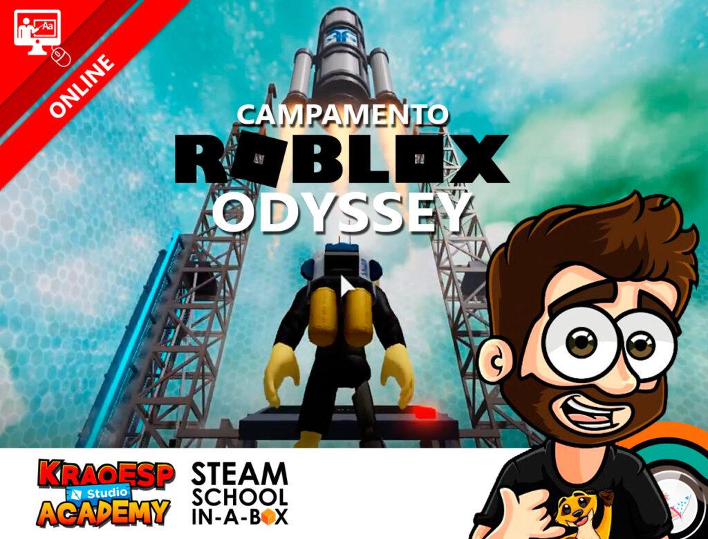 Campamento Roblox Odyssey: Aventura espacial