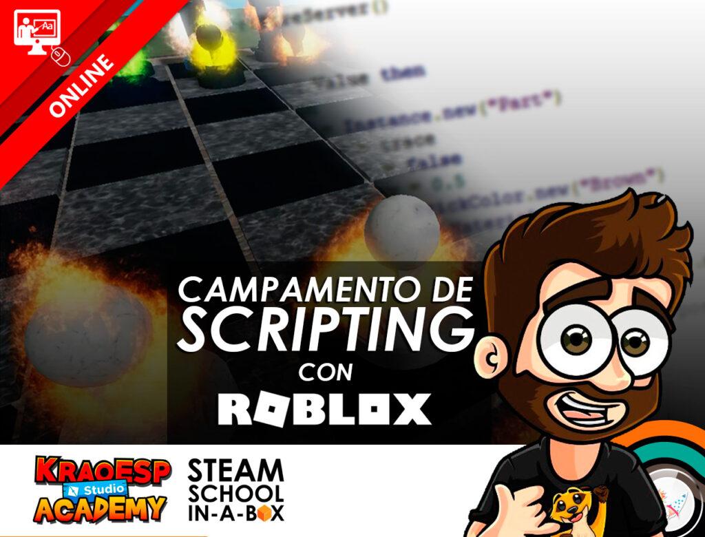 Campamento de Scripting con Roblox